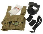 AK Airsoft Tactical Combo Package $71.99