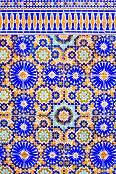 Zellige  The art of traditional Moroccan mosaics.