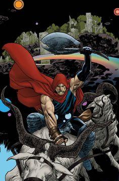 The Unworthy Thor #3 - Ryan Sook