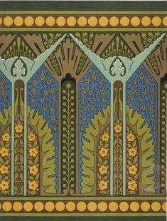¤ Design ornament by Christopher Dresser (1834–1904)