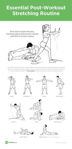Kick start muscle recovery, maximize gains and prevent injuries with this 6-minute routine. MEN's version (scheduled via http://www.tailwindapp.com?utm_source=pinterest&utm_medium=twpin&utm_content=post294921&utm_campaign=scheduler_attribution)