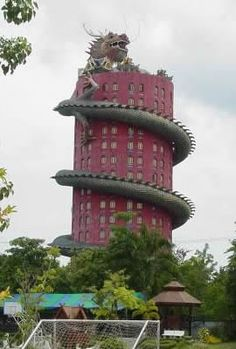 Most Interesting Houses in the World | odd_houses23 I just love this. Hopefully the dragon never comes to life.