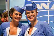 Flight Attendant Uniforms That Make Fashion Statements: Air France Tops Our List - Thrillist