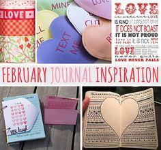 february journal inspiration