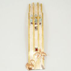 Tower Ornament with Beads $13.95
