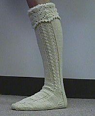 Ravelry: Horseshoe Kilt Hose pattern by Anne Carroll Gilmour