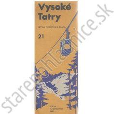 Vysoké Tatry, letná turistická mapa