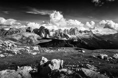 Catinaccio (Dolomiti) - Mount Everest, Explore, Mountains, Black And White, Travel Photos, Nature, Photography, Outdoor, Angels