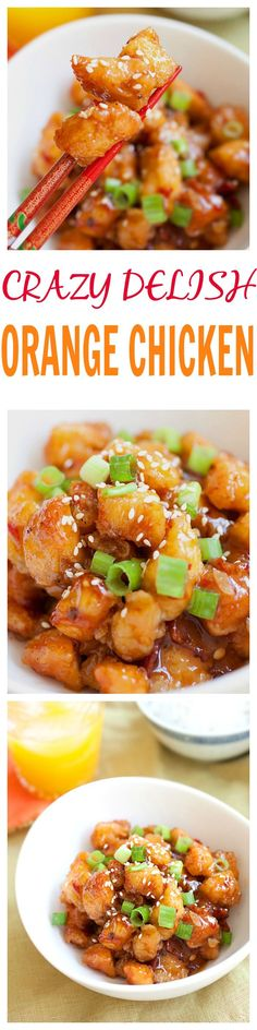 Crazy delicious orange chicken that is better than any of your regular Chinese takeout. Learn this super easy recipe and make it tonight for your family | // Chicken : https://www.zayconfresh.com/campaign/30