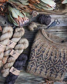 Fair Isle Knitting Patterns, Sweater Knitting Patterns, Knitting Stitches, Knit Patterns, Free Knitting, Loom Knitting, Knitting Kits, Vintage Knitting, Stitch Patterns