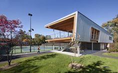 Princeton University Tennis Pavilion.  Location: Princeton, USA; architects: Dattner Architects; year: 2011