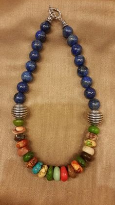 Lapis lastly and torques #necklace This looks like something Temperance Brennan would wear #Iwantit
