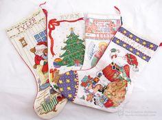 Craft Legacy: Cross Stitch Christmas Stockings
