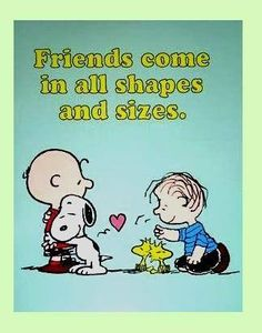 Snoopy and Friends always make me smile :) I just love them!