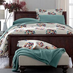 Confetti Dot Flannel Duvet Cover | The Company Store