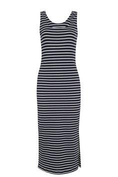 Bretonse streep jurk
