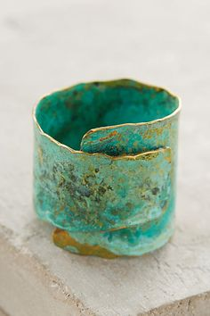 Restoration Ring - anthropologie.com by Buenos Aires-based jewelry designer Fernanda Sibilia.  (No longer available, darnit.)