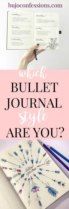 Typically, I find that bullet journalists fall into one of the following four categories (or a combination of them). Which one are you? Let's get a