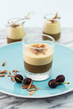 咖啡奶凍  Layered Coffee Panna Cotta01
