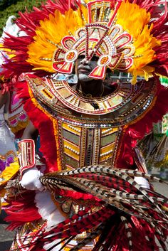 PLACES TO VISIT IN THE BAHAMAS:  unkanoo Expo Museum  Get up close to Junkanoo, the Bahamas' own celebration happening on December 26. The museum is home examples of the stunning, brightly-colored costumes used in the parades.