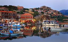 Lesvos, Greece - the island my family is from.