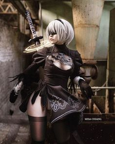 ~ Sexy NieR: Automata Cosplay by Misa Chiang Pics] – Nerd Porn! Cute Cosplay, Amazing Cosplay, Best Cosplay, Cosplay Girls, Anime Cosplay, Nier Automata, Real Anime, Game Costumes, Tumblr