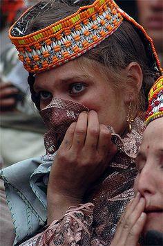 Kalasha woman from north Pakistan
