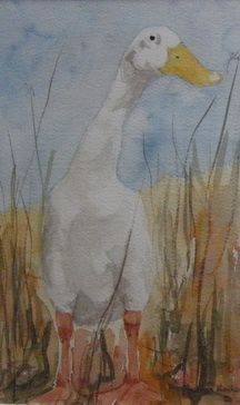 watercolour painting by Robyn Koiker
