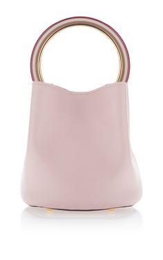 Small Top Handle Bag in Leather by MARNI for Preorder on Moda Operandi  Birkin 7ffdbe01798af