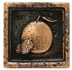 Metal decorative tile kitchen