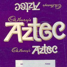 Aztec Milk and nougatine and caramel from Launched in 1967 and retired in the but it came back for a short period in i left uk 1969 it was my fav bar and never could get it again boo hoo Old Sweets, Vintage Sweets, Retro Sweets, 1970s Childhood, My Childhood Memories, Cadbury Chocolate, Chocolate Bars, History Of Chocolate, Vintage Packaging
