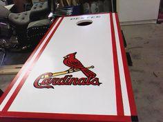 st louis cardinals corn hole boards