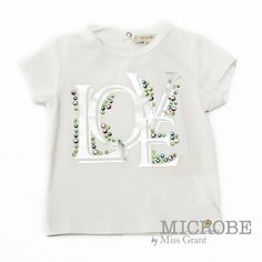 T-SHIRT LOVE PRINT. Sale 50% off Spring&Summer Collection!