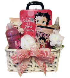 Betty Boop Retail Therapy Gift Basket by Thoughtful Expressions Gift Baskets.