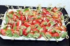 Festa Anos 60 - Salada Caprese