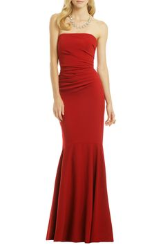 Beauty in a Bottle Gown by Badgley Mischka for $130 - $140 | Rent The Runway