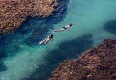 Praias mais Bonitas do Brasil - Taipus de Fora (em Barra Grande, Bahia)