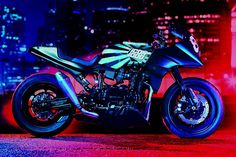 Old Ghost - 1984 KAWASAKI GPZ 900 R  by ICON 1000