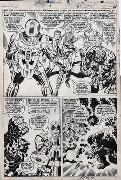 """""""Fantastic Four #65, Page 11 by Jack Kirby & Joe Sinnott """""""