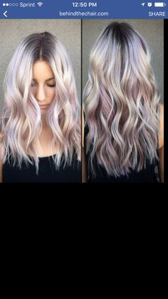 I like the way the color is placed,  not necessarily the blonde