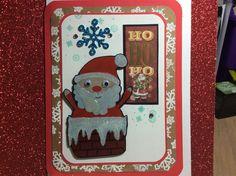 Santa sticker from dollar tree