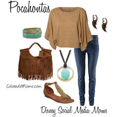 This is nice for colder weather visits ~ love the top! Disney Fashion – Powhatan Chic