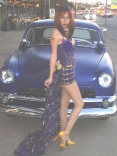 Crown Royal dress - I think I'll go a little longer for mine...