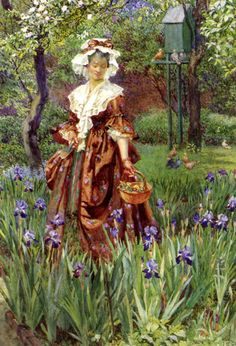 Madame Placid by Eleanor Fortescue-Brickdale (1871 - 1945).