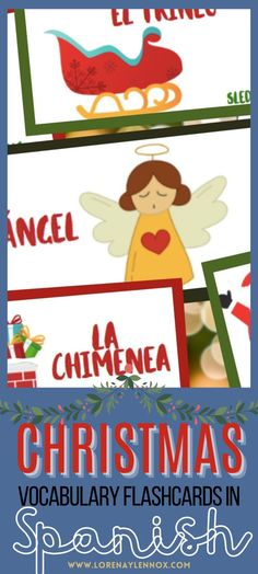 Free Christmas Activities in Spanish for Your Child. #Spanisheducation #navidad #activdadesparanavidad #Christmasfreeprintable #christmasactivities Mother's Day Activities, Spanish Activities, Valentines Day Activities, Easter Activities, Teaching Spanish, Craft Activities For Kids, Christmas Activities, Spanish Flashcards, Flashcards For Kids