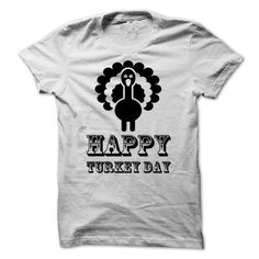 Happy Turkey Day Thanks Giving Day T Shirts, Hoodies. Check price ==► https://www.sunfrog.com/Holidays/Happy-Turkey-Day-Thanks-Giving-Day-65811556-Guys.html?41382