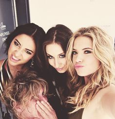 Shay Mitchell, Troian Bellisario, & Ashley Benson