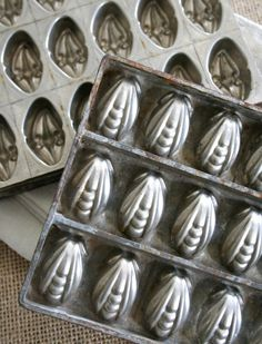 antique chocolate molds