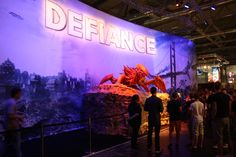 Defiance Booth
