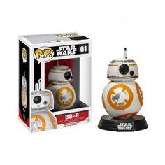 Bobble Head au format POP! de chez Funko représentant BB-8, le nouveau droïde de Star Wars Episode 7 !